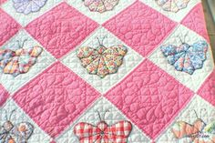 Vintage Butterfly Quilt.