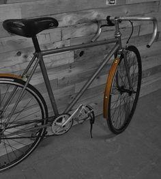 Reclaimed Exotic Hardwood Bike Fenders by REdesign Studios on Scoutmob Shoppe