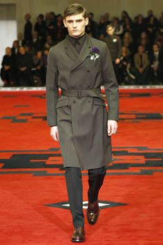"""""""Prada Presents: Il Palazzo. A Palace of Role Play."""" Mens AW12"""