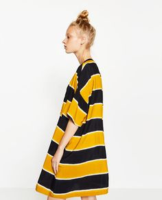 Image 3 of STRIPED DRESS from Zara