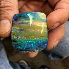#boulderopal #opal @boulderopalbill #mynewfavorite #sunsetoverthesierra #gemstone #australia