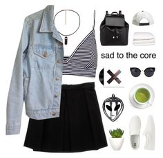"""i have no idea"" by cottonisth ❤ liked on Polyvore featuring Pull&Bear, Enza…"
