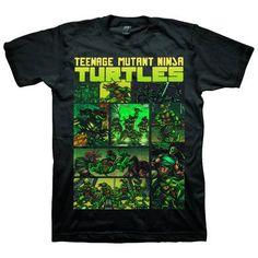 TMNT Comic Strip Exclusive T-Shirt
