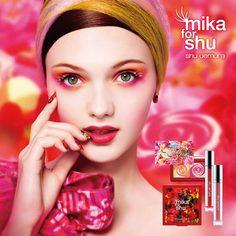 mika for shu イン ビューティー ワンダーランド | シュウ ウエムラ