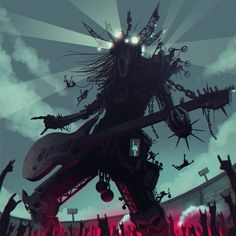 Metal god by glooh on DeviantArt