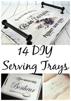 These 14 DIY serving tray ideas are the perfect inspiration for any upcoming projects you may have in mind.
