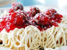 April Fools Day Spaghetti Cupcakes
