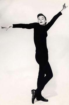 Audrey Hepburn Funny Face | Audrey Hepburn's Granddaughter on Harper's Bazaar