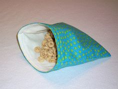 Fabric Snack Bags!