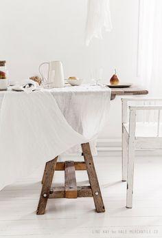 Beautiful linen in a dreamy Norwegian home - Vintage Piken / Hale Mercantile Co.