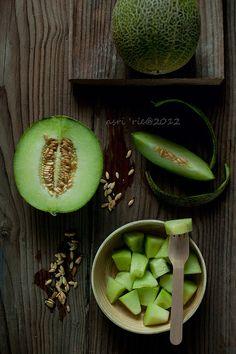 green melon -by asri.