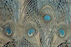 """Unfortunately, there is no further information about this fabric (I presume that's what it is) than """"Art Nouveau Decor Modern Living Room Decorating Ideas In Art Nouveau."""""""
