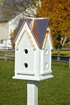 Victorian Mansion Birdhouse