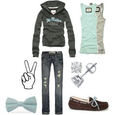 I am obsessed with this hollister outfit. Hollister Outfit, Hollister Clothes, Hollister Jeans, Fall Winter Outfits, Winter Fashion, Summer Outfits, Cute Outfits, Cute Fashion, Womens Fashion