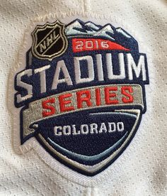 2016 Stadium Series patch worn February 27, 2016 at Coors Field.