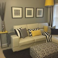 41 The Most Forgotten Fact About Modern Sofa Design A Perfect Choice for Your Living Room Exposed - bucurieacasa Living Room Decor Curtains, Sofa Design, Colourful Living Room, Living Room Designs, Modern Sofa Designs, Elegant Living Room, Yellow Living Room, Room Decor, Apartment Decor