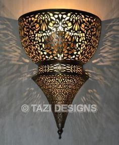 Moroccan Outside Wall Lights : Moorish Wall Sconce - Bouclier : Moroccan Lamps For the Home Pinterest Sconces, Moorish ...