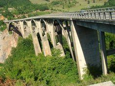 Djurdjevicia Tara Bridge, Montenegro