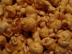 Microwave Paper Bag Caramel Popcorn.  So good and easy to make.