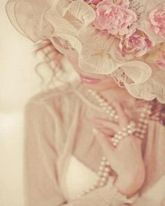 pearls and pink..❥