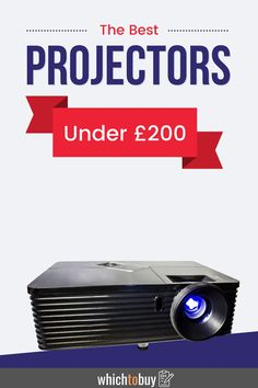 The Best Projectors Under 200: Do you love watching movies but hate going to the expensive cinemas? Or do you just feel like your laptop is a little bit too small? Whether you want to make family movie nights just a little bit better or start hosting screenings in your back yard, a projector may just be the perfect choice for you. That's right, you can get a projector online, and it doesn't have to break the bank! So, here are the best projectors available online now for less than £200. Full Hd Projector, Portable Projector, Projectors For Sale, Cinema Experience, Projection Screen, Family Movie Night, Movie Nights, Built In Speakers, Home Cinemas