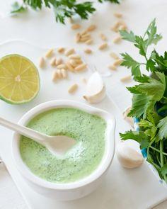 Salsa Verde, Crema Fresca, Finger Foods, Ethnic Recipes, Greece, Finger Food, Snacks
