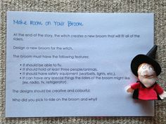 Room on the Broom design activity