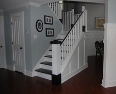 DIY Wood Stairs-Cover up your old stairs with new treads and risers instead of replacing them. So much easier!