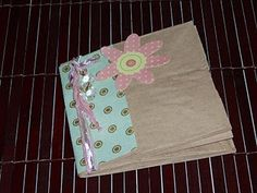 #crafts paper bag book #tutorial