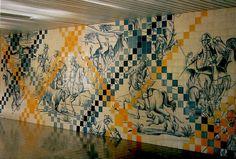 Portuguese tiles - subway