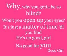 Lyrics from Good Girl