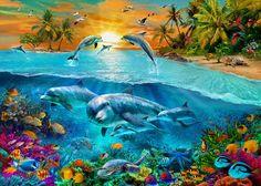 Dolphin Island Photograph - Dolphin Island Fine Art Print