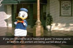 "50 Weird and funny facts about Disneyland! I need a shirt that says ""Treasured Guest"""