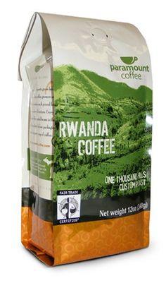Paramount Coffee, Fair Trade Rwanda, Ground Coffee