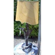 LAMPADA da TAVOLO in Ferro Battuto . Realizzazioni Personalizzate . 499 Iron Table, Wrought Iron, Table Lamp, Summer Dresses, Home Decor, Table Lamps, Decoration Home, Summer Sundresses, Room Decor