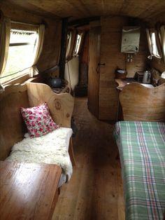 Narrow boat home