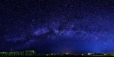 Image result for starry sky over village