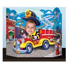 Fire Truck Photo Prop, 30112