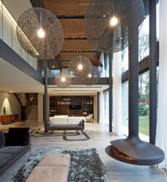stanton williams architects / fitzroy park residence, hampstead
