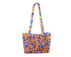Beaded Bags, Beaded Bracelets, Confetti Bags, Fashion Beads, Make A Gift, Custom Bags, Acrylic Beads, Wooden Beads, Beading Patterns