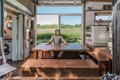 Living Room 3 - Alpha by New Frontier Tiny Homes