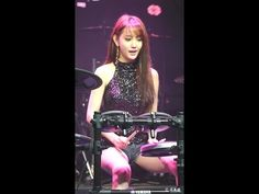 Hottest Female drummer A -Yeon  Amazing Korean girl-K-Pop! - YouTube