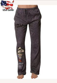 Sleepwear & Robes Mens Xl Blank Panther Hot Topic Lounge Pajama Pants Grey Cotton Blend Drawstring Sturdy Construction