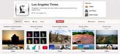 News organizations to follow on Pinterest, courtesy of 10,000 Words.