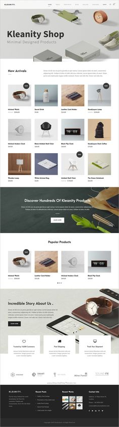 Kleanity is the powerful minimalist #WordPress theme for #webdev creative #portfolio website with WooCommerce support download now➩ https://themeforest.net/item/kleanity-minimalist-wordpress-theme-creative-portfolio/19133384?ref=Datasata