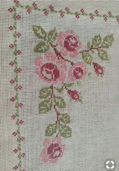 Embroidery Stitches, Cross Stitch Patterns, Artsy, Handmade, Farmhouse Rugs, Embroidered Towels, Cross Stitch Embroidery, Craft, Railings