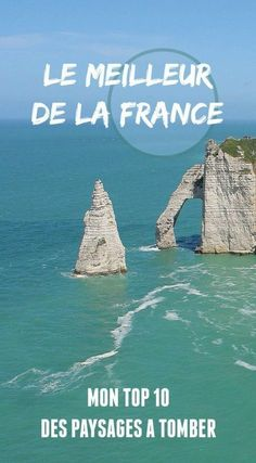 Top 10 des plus beaux paysages de France - The Path She Took - Benefits of nature travel. What is natural travel? Road Trip France, France Travel, Places To Travel, Travel Destinations, Places To Visit, Week End France, Camping Activities, Beautiful Landscapes, Trip Planning