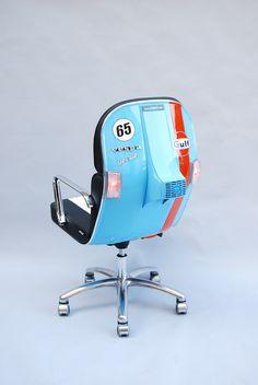 Vespa Gulf Racing 65