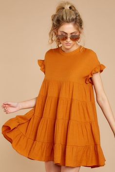 Nothing More Nothing Less Goldenrod Dress Simple Outfits, Simple Dresses, Cute Dresses, Casual Dresses, Short Dresses, Summer Dresses, Prom Dresses, Pink Dress Outfits, Look Fashion