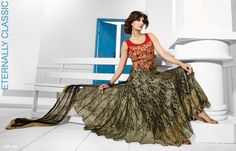 Perfect for weddings Ethnic Wear Designer, Designer Gowns, Lehenga Choli, Saree, Anarkali, Evening Party Gowns, Gowns Of Elegance, Indian Outfits, Latest Fashion Trends